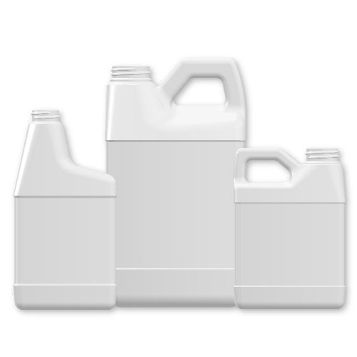 White Stock Bottles-HDPE