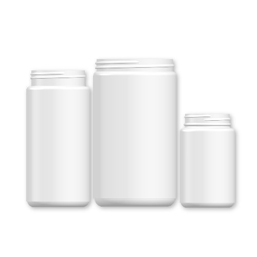 Wide Mouth Jars-HDPE